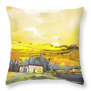Midday 10 Throw Pillow