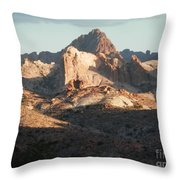 Midday Groove Throw Pillow