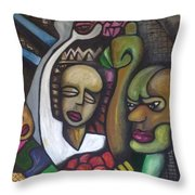 Middle Class Throw Pillow