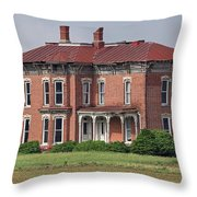 Middle Of Nowhere 3 Throw Pillow