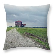 Middle Of Nowhere 4 Throw Pillow