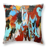 Middle Of The Day Throw Pillow