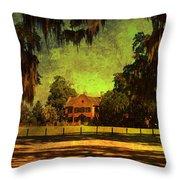 Middleton Place In Charleston Throw Pillow