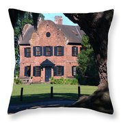 Middleton Place Plantation House Throw Pillow