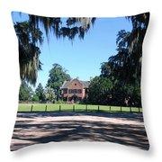 Middleton Plantation Charleston Sc Throw Pillow