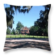 Middleton Plantation Charleston Sc Throw Pillow