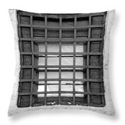 Midieval Window 7385 Throw Pillow