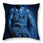 Midnight Bane Throw Pillow