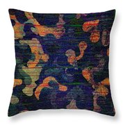 Midnight Canopy  Throw Pillow