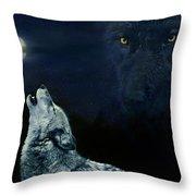 Midnight Communion Throw Pillow