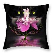 Midnight Dance Throw Pillow