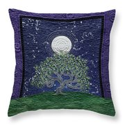 Midnight Dance Throw Pillow