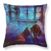Midnight Dreams  Throw Pillow