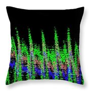 Midnight Forest Throw Pillow