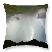 Midnight Hour Throw Pillow