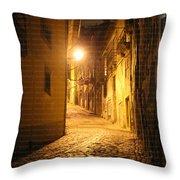 Midnight In Porto Throw Pillow