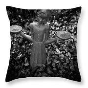 Midnight In The Garden Throw Pillow