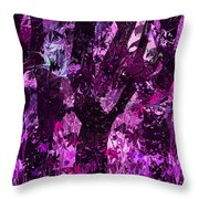 Midnight Incantations Throw Pillow