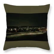 Midnight Lights Throw Pillow