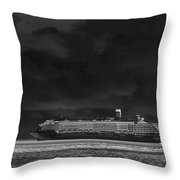 Midnight Magic Throw Pillow