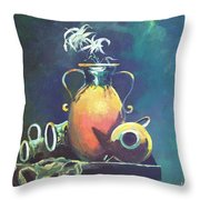 Midnight Moon Throw Pillow
