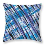 Midnight Over Spring Throw Pillow
