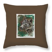 Midnight Prowler Throw Pillow