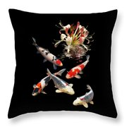 Midnight Reflections Throw Pillow
