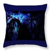 Midnight Serenity Throw Pillow