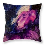 Midnight Sky Throw Pillow