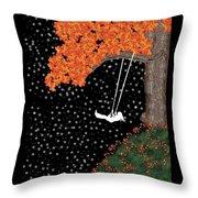 Midnight Swing  Throw Pillow
