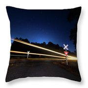 Midnight Train To Georgia Throw Pillow