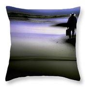 Midnight Wanderer Throw Pillow