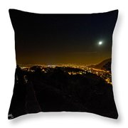 Midnite In Romania Throw Pillow