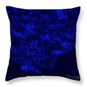 Forest Slope In Moonlight Throw Pillow