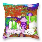 Midsummer Series 2 Throw Pillow