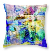 Midtown Manhattan Throw Pillow