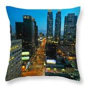 Midtown West  Throw Pillow