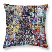 Midway Fun Throw Pillow