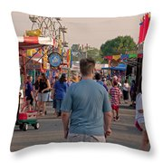 Midway Throw Pillow