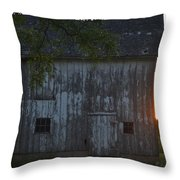 Midwest Barn Throw Pillow