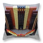 Art Deco Theater Throw Pillow