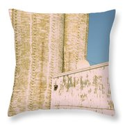 Midwestern Monarch Throw Pillow