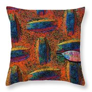Mighty Are The Fallen Throw Pillow
