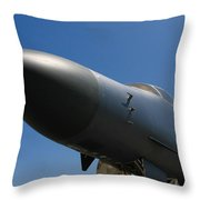 Mighty Bomber Throw Pillow