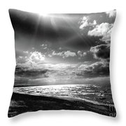 Catching The Light Of A Dream Throw Pillow
