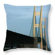 Mighty Mac Throw Pillow