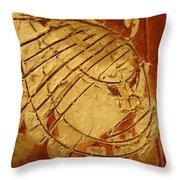 Mighty Masaai - Tile Throw Pillow