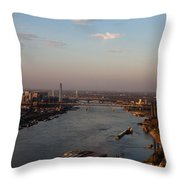 Mighty Mississippi Throw Pillow