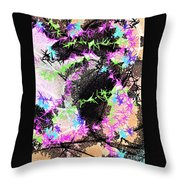 Mighty Mouse - Abstract Throw Pillow